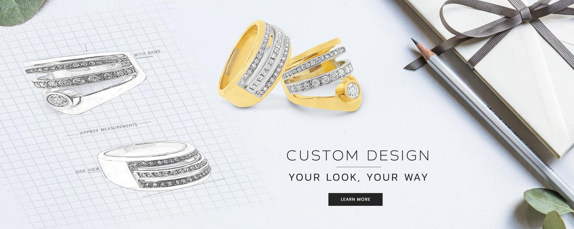 Custom Design Jewellery At Andersons Treasure Store