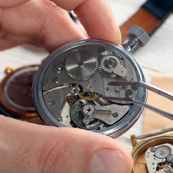 Watch Repairs at Andersons Treasure Store
